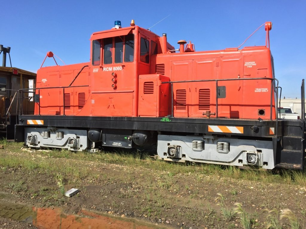 Railcar Movers - RCM 8060 Locomotive